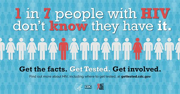 HIV information.