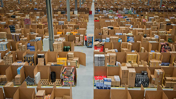 Amazon distribution facility