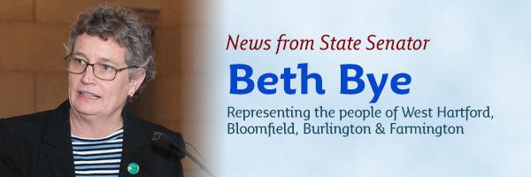 News from State Senator Beth Bye