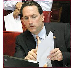 Senator Doyle in the Senate