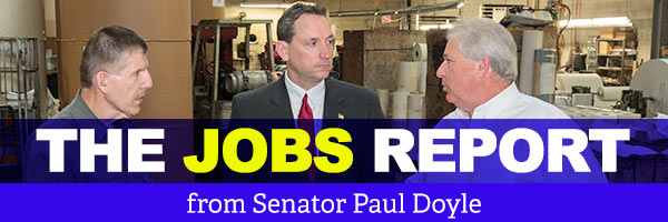 State Senator Paul Doyle: Jobs Report