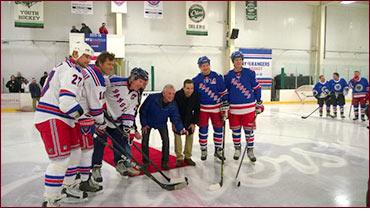 dropping the puck