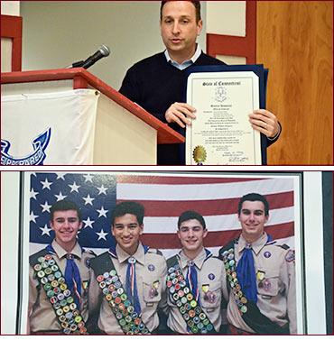 Eagle Scout citation