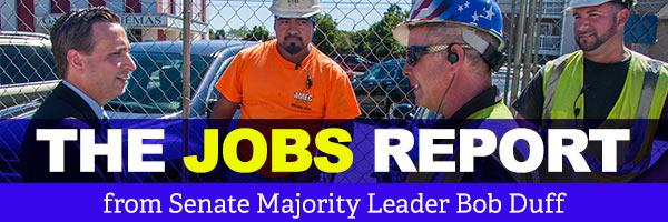Senate Majority Leader Bob Duff: Jobs Report