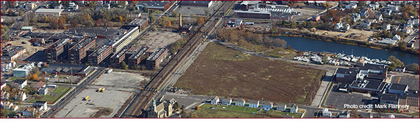 Photo of Barnum Station site