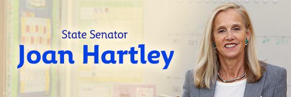 State Senator Joan Hartley: Your Voice