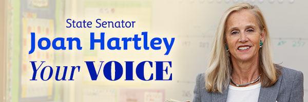 News from State Senator Joan Hartley