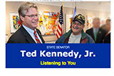 Image of Senator Kennedy's E-news.