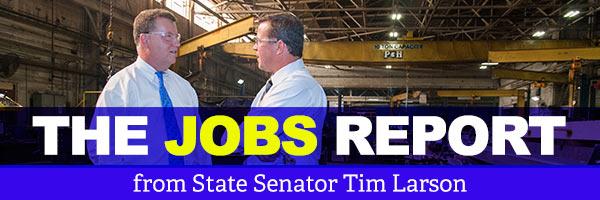 News from State Senator Tim Larson