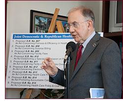 Senator Looney on health care