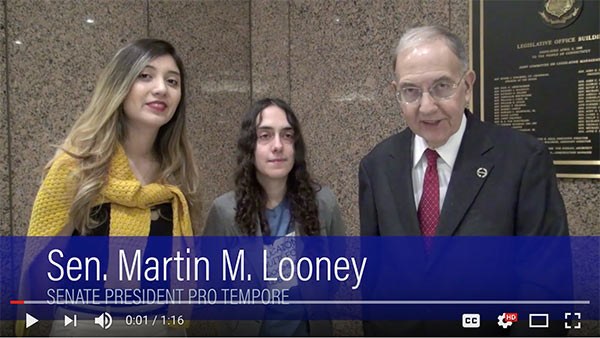 Video of Senator Looney.