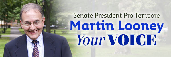 News from State Senate President Pro Tempore Martin Looney