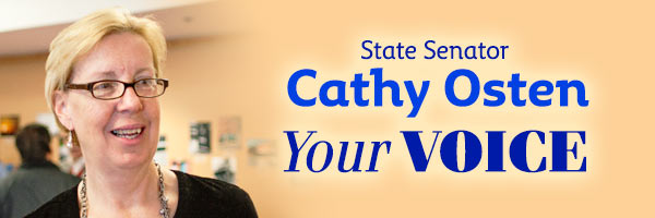 News from State Senator Cathy Osten