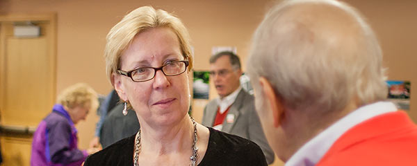 Photo of Senator Cathy Osten.