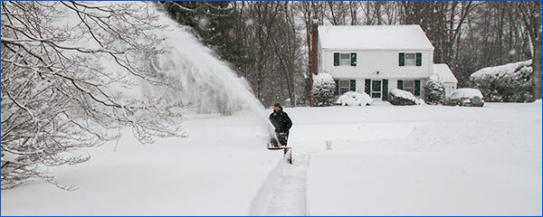 snow removal after storm