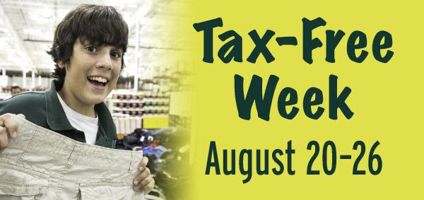 Tax-free Week.