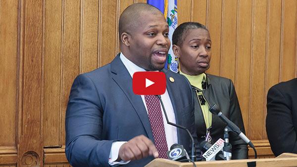 Video of Senator Winfield.