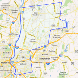 3rd senate district Google map
