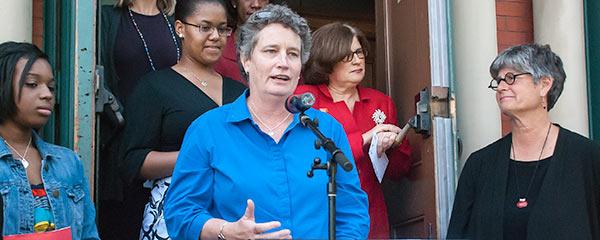 Photo of Senator Beth Bye.