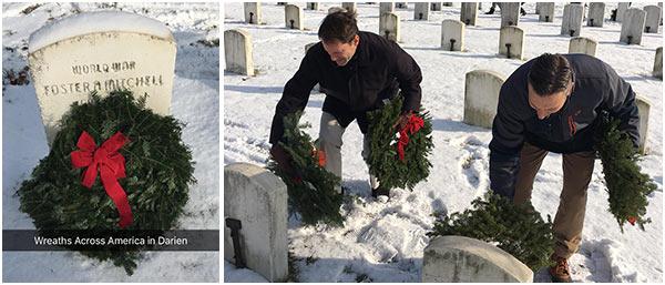 Wreaths Across America.