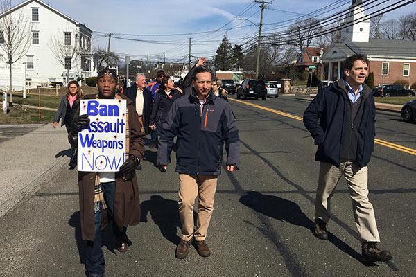 Gun reform march