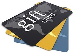 gift cards.