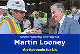 Image of Senator Looney's enews.
