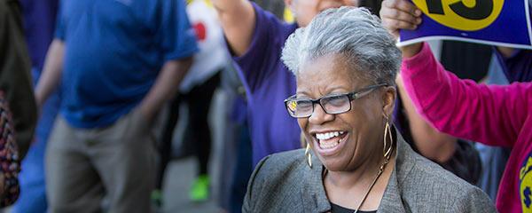 Photo of Senator Marilyn Moore.