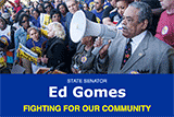 Image of Senator Gomes' E-News.