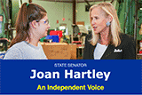 Image of Senator Hartley's e-news.