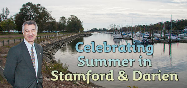 Celebrating Summer in Stamford and Darien.